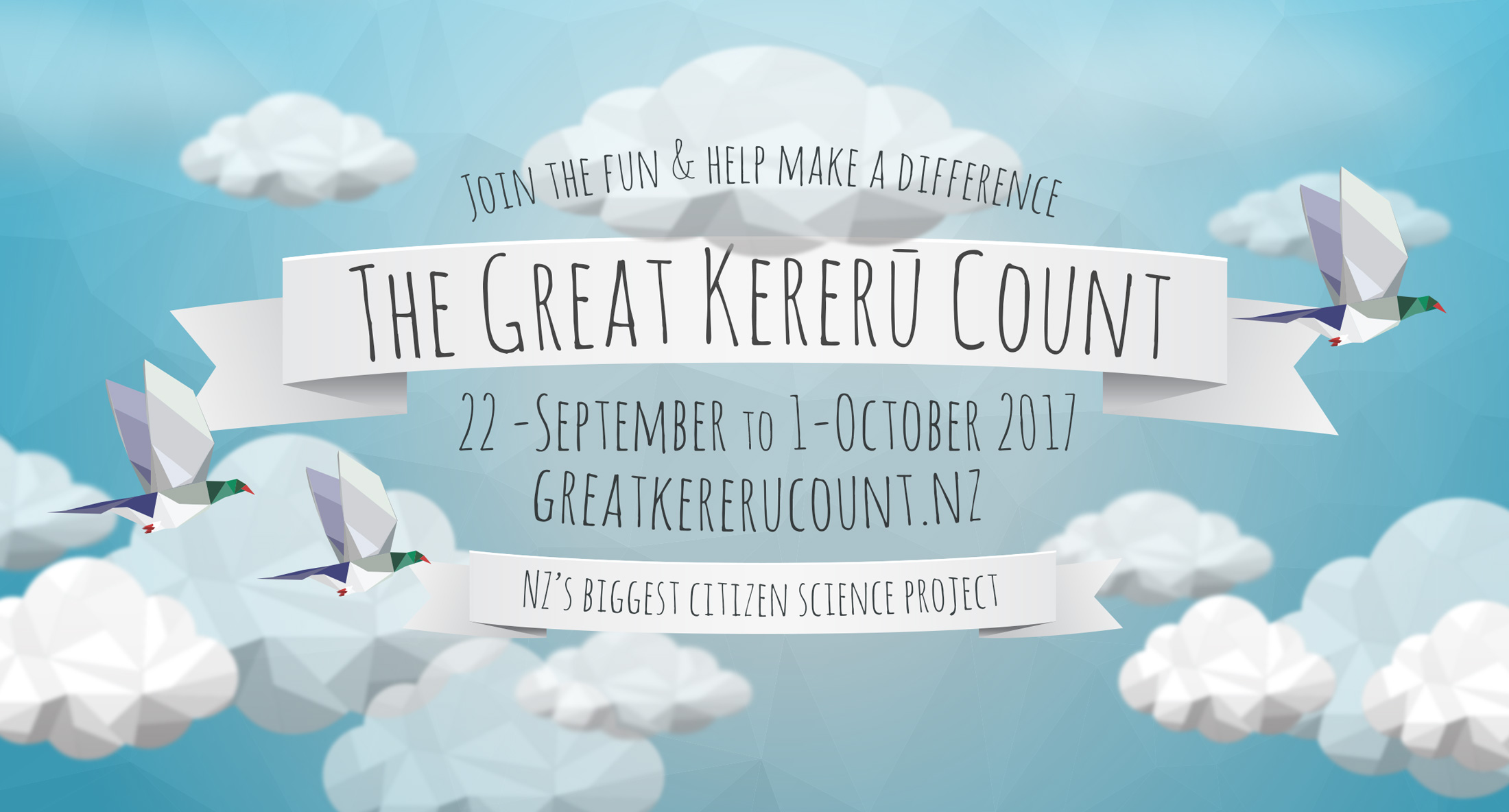 The Great Kereru Count