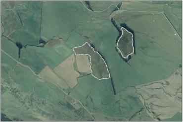 Aerial view of Trig Y Bogs (March 2006)