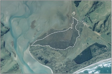 Aerial View of Hoopers Inlet Swamp (March 2006)